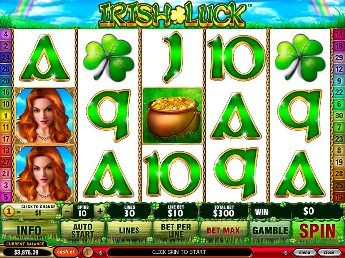 Playtech Игра Luck Irish От странное